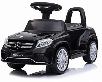 HL600 BLACK Benz GLS63 Licensed Kids Electric Foot to Floor Ride on Car - LK Auto Factors