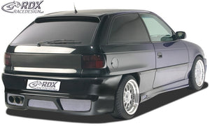 "LK Performance RDX Rear bumper OPEL Astra F with numberplate ""GT-Race"""