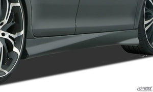 "LK Performance Sideskirts AUDI, 8VA Sportback, 8VS Sedan ""Turbo-R"" A3-8V"