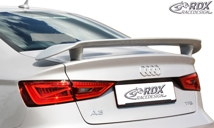 LK Performance rear spoiler AUDI 8VS Sedan, 8V7 Convertible A3-8V