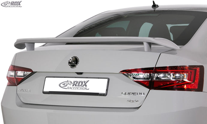 LK Performance RDX rear spoiler SKODA Superb 3V Rear Wing