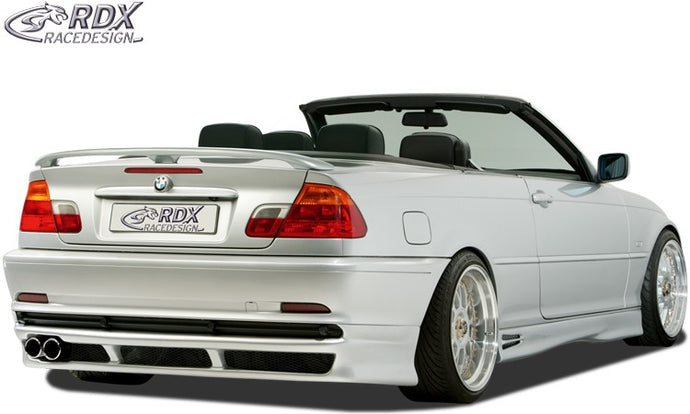 LK Performance rear bumper extension BMW 3-Series E46 compact coupe/convertible-2003