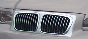 LK Performance Grille-set for RDX Frontbumper RDFS023 + RDFS005 BMW 3-Series E36 Compact