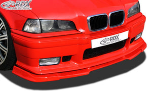 LK Performance Front Spoiler VARIO-X BMW 3-series E36 M-Technik and M3-Frontbumper Front Lip Splitter BMW 3-Series E36 Compact
