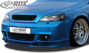LK Performance RDX Front Spoiler VARIO-X OPEL Astra G OPC 2 (Fit for OPC 2 and Cars with OPC 2 Frontbumper) Front Lip Splitter Astra G Coupe/Cabrio