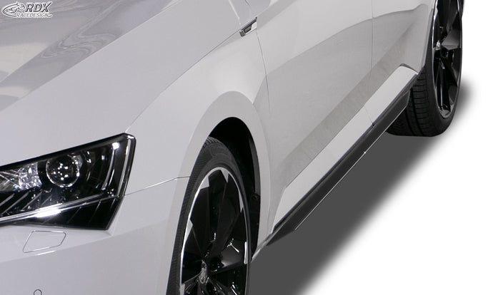 LK Performance RDX Sideskirts SKODA Superb 3V
