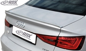 LK Performance Trunk lid spoiler AUDI 8VS Sedan, 8V7 Convertible A3-8V