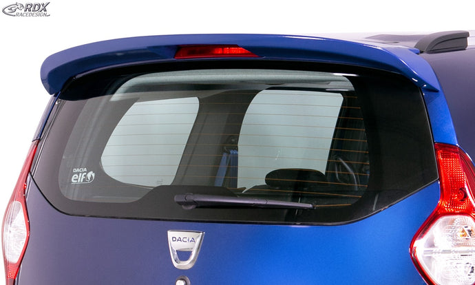 LK Performance Roof Spoiler DACIA Lodgy Rear Wing