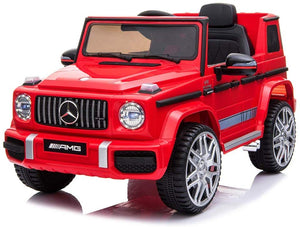 12V Licensed G63 Ride On Car Red - LK Auto Factors