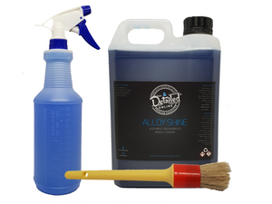 Alloy Shine Wheel Cleaner 10/1 Acid Free Safe - Very Ecomonical - Various Sizes Wheel Cleaner - LK Auto Factors