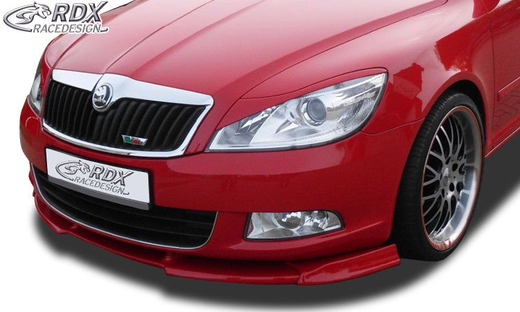 LK Performance RDX Front Spoiler VARIO-X SKODA Octavia 2 Facelift Typ 1Z 2008+ (not RS) Front Lip Splitter - LK Auto Factors