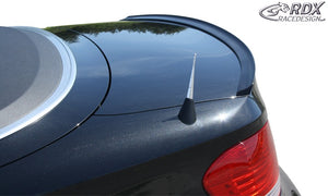 LK Performance RDX Trunk lid spoiler BMW 1-series E82 Coupe / E88 Convertible - LK Auto Factors