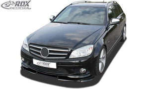 LK Performance RDX Front Spoiler VARIO-X MERCEDES C-class W204 / S204 AMG-Styling -2011 (Fit for Cars with AMG-Styling Frontbumper) Front Lip Splitter - LK Auto Factors