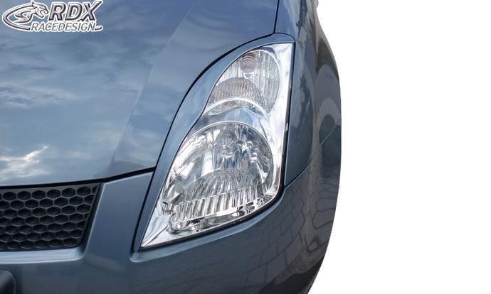 LK Performance RDX Headlight covers SUZUKI Swift MZ/EZ 2005-2010 - LK Auto Factors