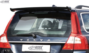 LK Performance RDX Roof Spoiler VOLVO S80 V70 2007-2016 Rear Wing