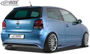 LK Performance RDX rear bumper extension VW Polo 9N3