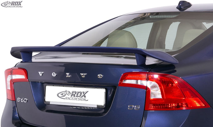 LK Performance RDX rear spoiler VOLVO S60 2013-2018