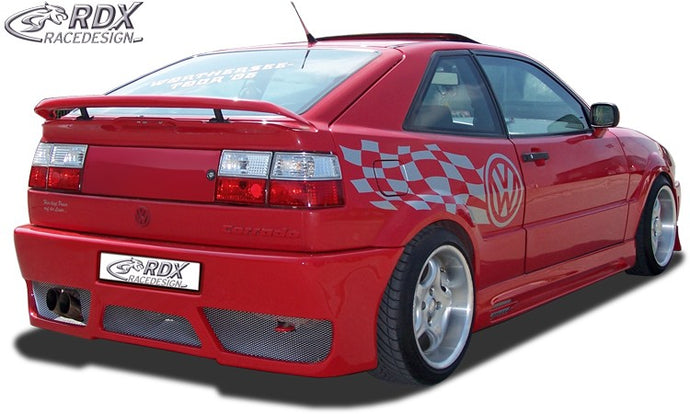 LK Performance RDX Rear bumper VW Corrado with numberplate