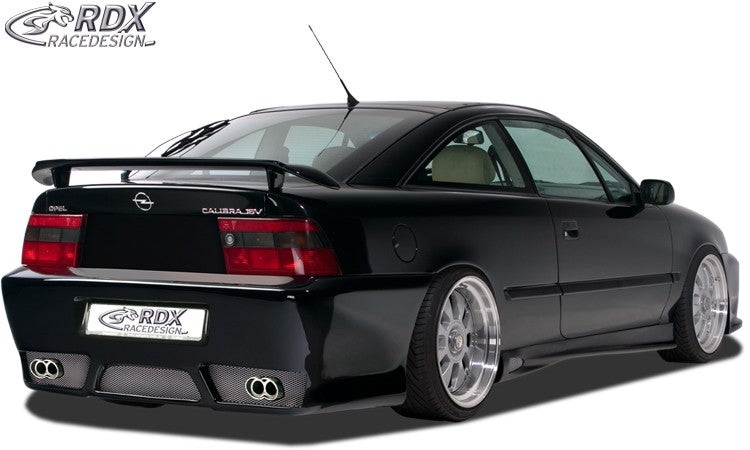 "LK Performance RDX Rear bumper OPEL Calibra with numberplate ""GT-Race"" - LK Auto Factors"