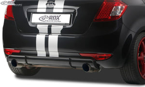 LK Performance RDX rear bumper extension KIA Ceed Type ED Diffusor - LK Auto Factors