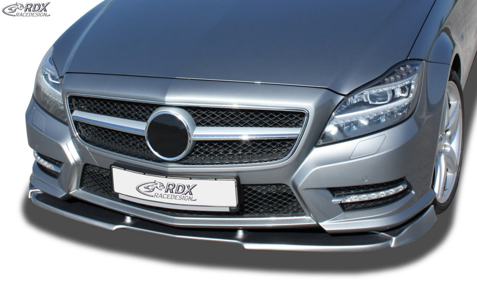 LK Performance RDX Front Spoiler VARIO-X MERCEDES CLS-class C218 -08/2014 for Cars with AMG-Styling Frontbumper) Front Lip Splitter - LK Auto Factors