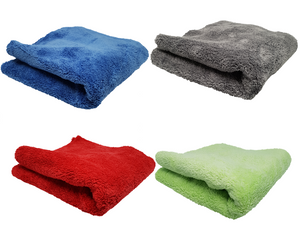 600gsm Plush Microfibre Edgeless Korean Cloth 10PACK Edgeless Ultra Plush - LK Auto Factors