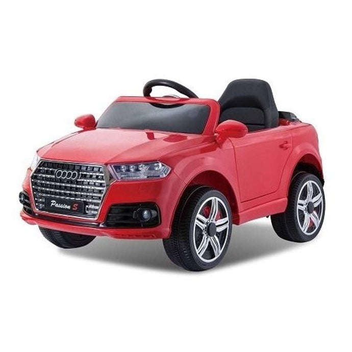 AUDI Q7 Style Ride on Car 12v Red with Parental Remote Control (With personalised Number Plates) - LK Auto Factors