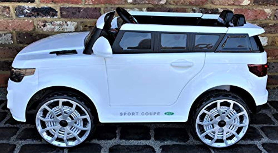 New 2019 Kids 4x4 Off Road Jeep Sport Style Off Roader 12v Electric / Battery Ride On Car White - LK Auto Factors