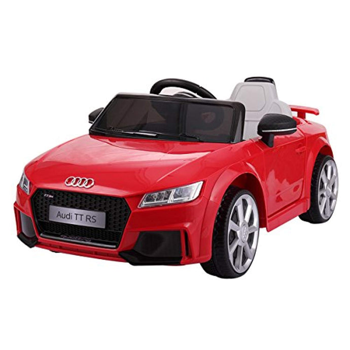 New 2019 Audi TT RS Kids 12V Ride on Car Electric Battery Powered Toy Vehicle RC Remote Control, Lights MP3, Red - LK Auto Factors