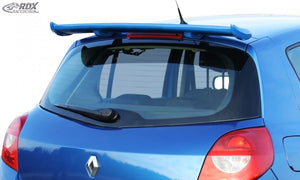 LK Performance RDX Roof Spoiler RENAULT Clio 3 Phase 1 / 2 - LK Auto Factors