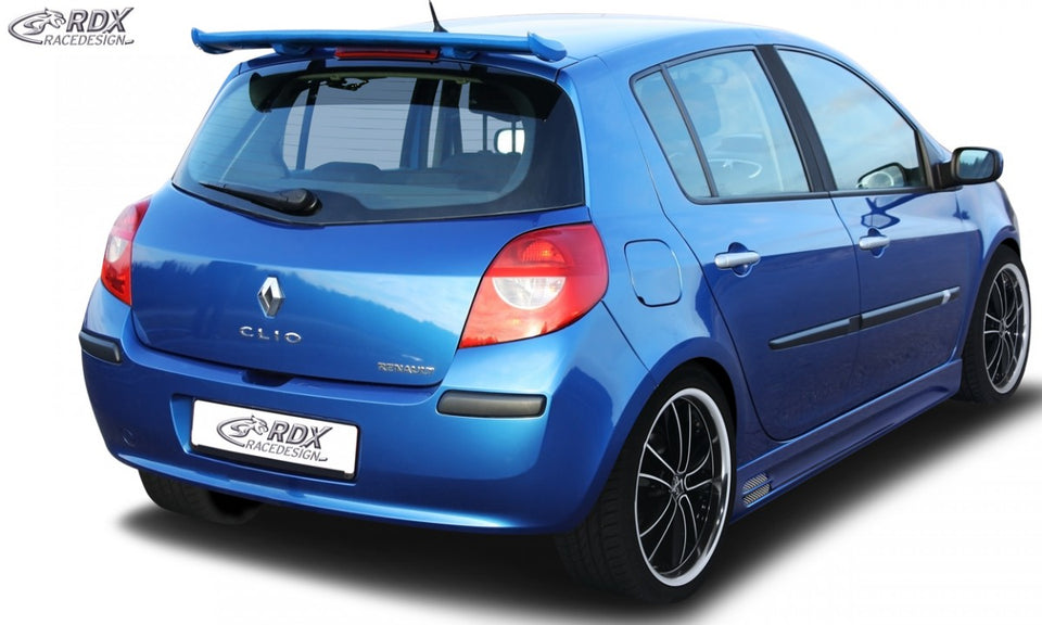 Lk Performance Rdx Roof Spoiler Renault Clio 3 Phase 1 2