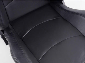 Pair of Ergonomic Performance FK sport seats half bucket seats Set Control with heating and massage - LK Auto Factors