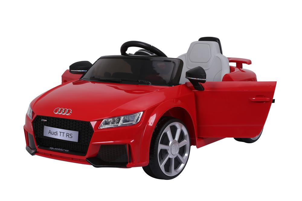 AUDI TT RS Lisenced Battery Powered Kids Electric Ride On Toy Car (Model: JE1198) RED - LK Auto Factors