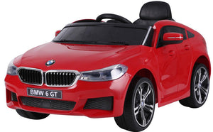BMW 6 GT Lisenced TWO MOTORS Battery Powered Kids Electric Ride On Toy Car (Model: JJ2164) RED - LK Auto Factors