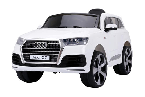 AUDI Q7 2016 Licensed 4x4 Kids Electric Ride On Car with Remote Control LED Lights and Music (JJ2188 WHITE) - LK Auto Factors