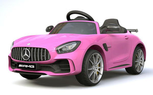 6V 4.5A Two Motors Mercedes Benz GTR AMG Licenced Battery Powered Kids Electric Ride On Toy Car HL288 PINK - LK Auto Factors