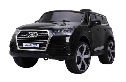 AUDI Q7 2016 Licensed 4x4 Kids Electric Ride On Car with Remote Control LED Lights and Music (JJ2188 BLACK) - LK Auto Factors