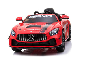 Mercedes Benz GT4 AMG SPORTS EDITION Two Motors Licenced Battery Powered Kids Electric Ride On Toy Car (Model: SX1918) RED - LK Auto Factors