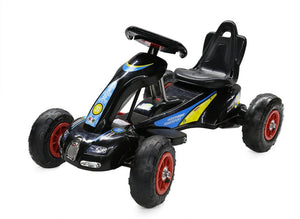 6V 12W Battery Powered Electric Go Kart Rubber Air Wheels (Model: S1288) BLACK - LK Auto Factors