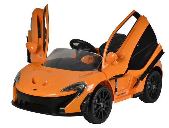 McLaren P1 Licenced 12V 7A Battery Powered Kids Electric Ride On Toy Car (Model: 672R) Orange - LK Auto Factors
