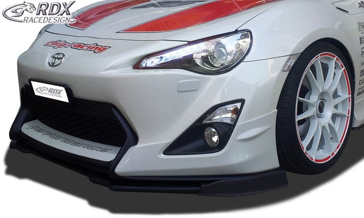 LK Performance RDX Front Spoiler VARIO-X TOYOTA GT86 (Fit for Cars with Aero-Kit / Aero-Frontbumper) Front Lip Splitter - LK Auto Factors