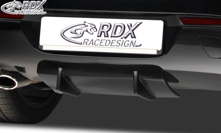 LK Performance RDX Rear Diffusor U-Diff Opel Astra J GTC (also for OPC-Line) - LK Auto Factors