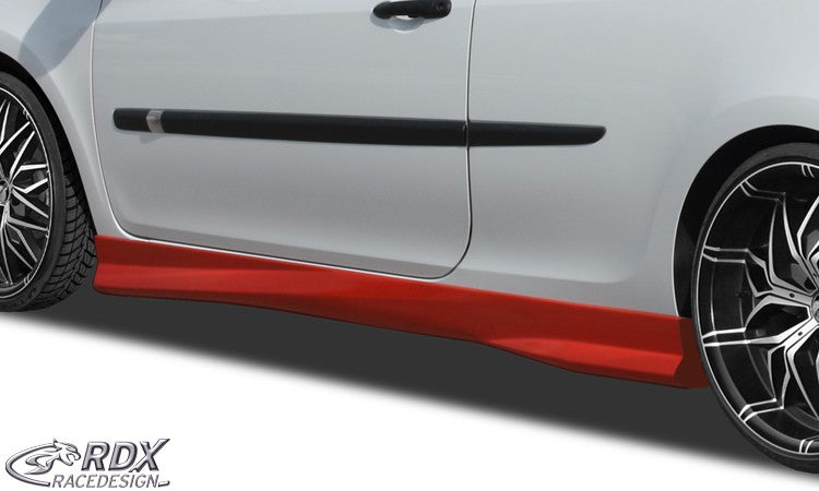 "LK Performance RDX Sideskirts RENAULT Clio 3 Phase 1 / 2 (not RS) ""Turbo"" - LK Auto Factors"