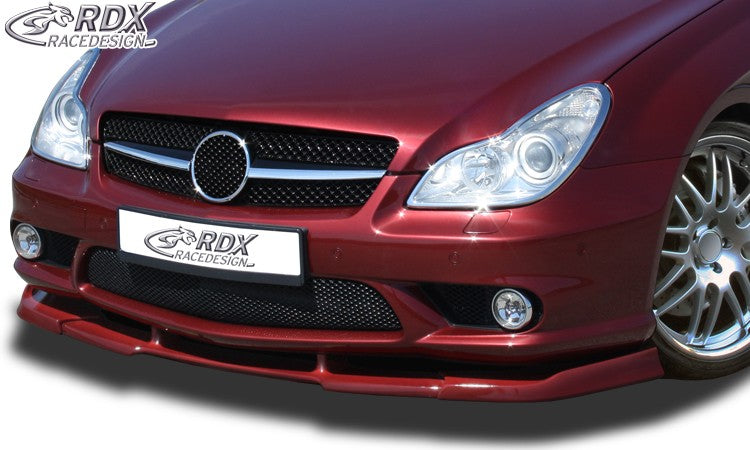 LK Performance RDX Front Spoiler VARIO-X MERCEDES CLS-class C219 AMG (Fit for AMG and Cars with AMG Frontbumper) Front Lip Splitter - LK Auto Factors