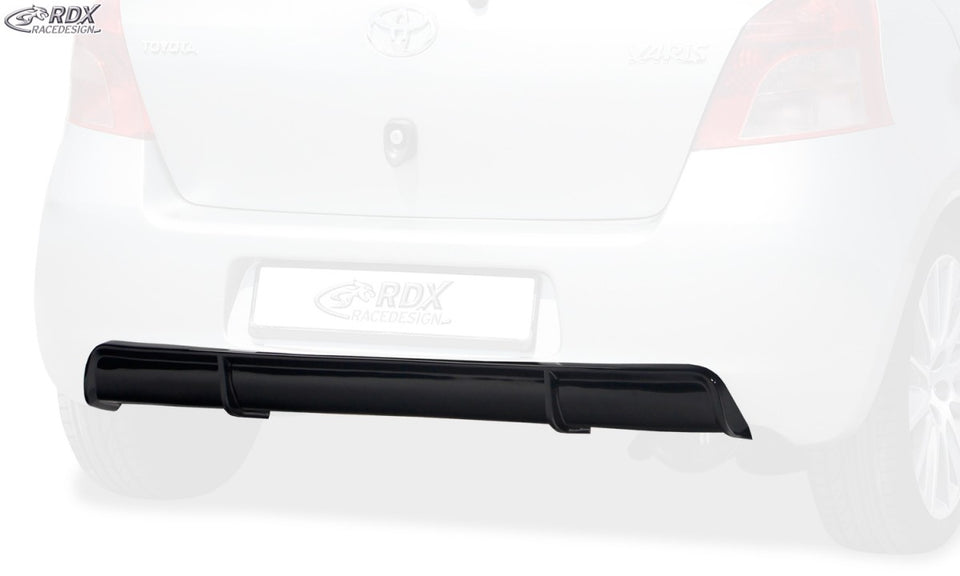 LK Performance RDX rear bumper extension TOYOTA Yaris P9 2005-2008 Diffusor - LK Auto Factors