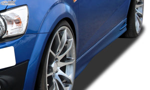"LK Performance RDX Sideskirts CHEVROLET Aveo (T300) ""GT4"" - LK Auto Factors"