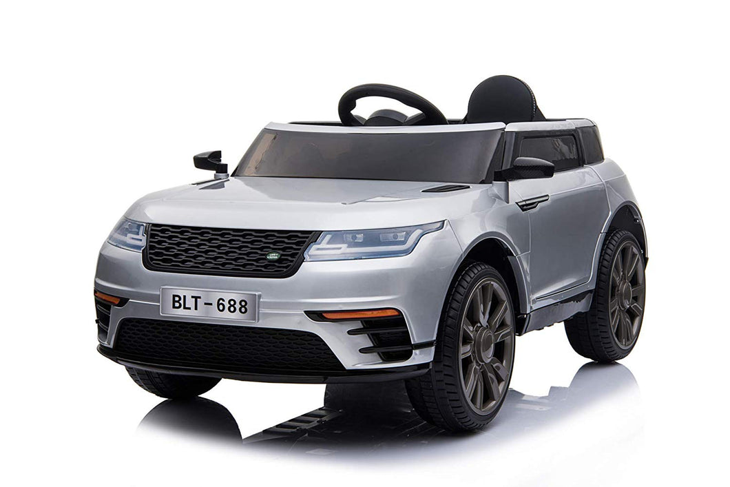 12V KIDS RANGE ROVER EVOQUE STYLE ELECTRIC RIDE ON (White) - LK Auto Factors