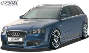 "LK Performance bonnet extension Audi A4 B6 8E ""SingleFrame"" Evil eye - LK Auto Factors"