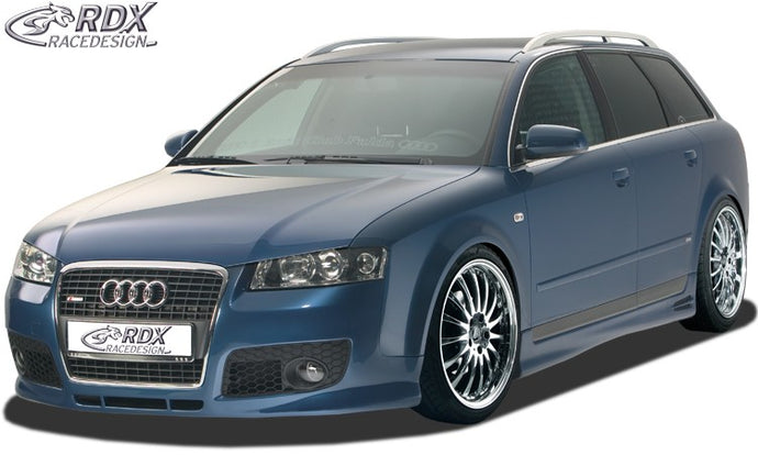 LK Performance bonnet extension Audi A4 B6 8E