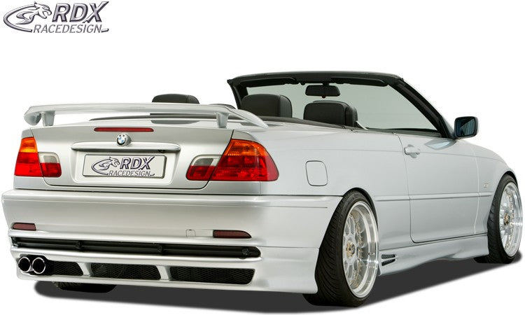 "LK Performance RDX rear spoiler BMW 3-series E46 ""GT-Race"" - LK Auto Factors"